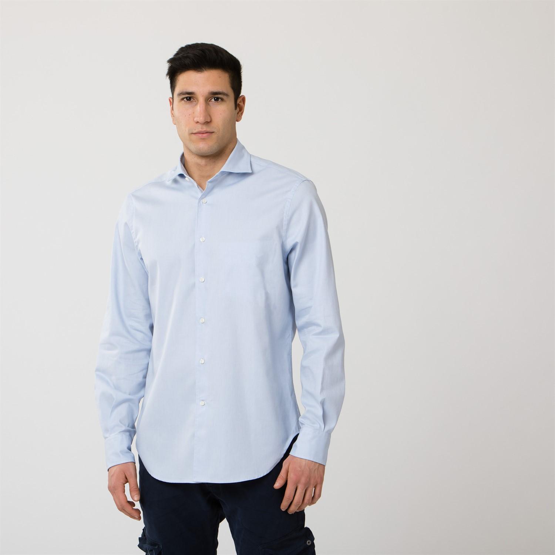 info for 16120 677a8 Camicia con collo alla francese   Camicie   Abbigliamento ...